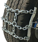 Snow Chains 245/70-19.5 245/70 19.5 Ratchet Strap Emergency Tire Chains