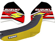 Graphics Dr350 Dr 350 Dr350r Yellow Red Thickness Seat Cover Gripp Premium Rc4