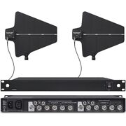 Uhf Wideband Antenna Distribution System For Shure Wireless Lavalier Mic Systems