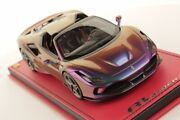 In The World Cars Moment Sold Out Serial 01 03 Mr 1/18 Ferrari F8 Spider