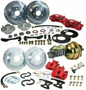 61 62 63 64 Lincoln Continental Front Rear Big Disc Brake Conversion W/ Booster