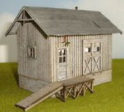 Fos Scale Custom Built Ho Scale Wood Model H.j. Simpson Feed And Seed