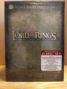 Lord Of The Rings The Trilogy - Factory Sealed Dvd, 2004, 12-disc Set
