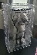 Kaws X Ddt Store Holiday Uk Brown Figure In Hand Fast Shipping
