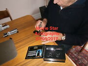 Darth Vader Master Replicas .45 Lightsaber Hand Signed By Dave Prowse With Coa