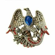 Heidi Daus Liberty And Justice For All Limited Edition Crystal Eagle Pin Nwt