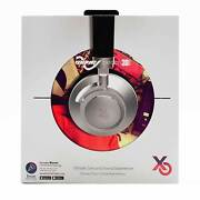New Xtyle Odeon Wave Beach 3d Bluetooth And Corded Stereo Spas Headphones In Black