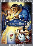 Beauty And The Beast Diamond Edition Blu-ray/dvd Sealed 3 Disc
