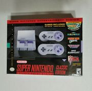 Super Nintendo Entertainment System Snes Classic Edition Never Opened