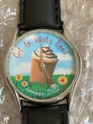 Frappuccino Starbucks Watch Rare Collectors Summer 2002 Get To Whats Good Nib