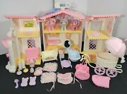 G1 My Little Pony 1985 Lullabye Nursery Play House, Accessories, Buggy, Babies