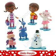 Doc Mcstuffins Figurine Play Set Cake Toppers Toys Kids
