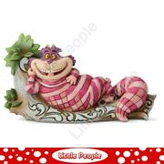Jim Shore Cheshire Cat On Tree - The Cat's Meow Figurine Disney Traditions
