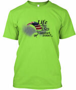 Ppc Life Begins Powered Parachute - At The End Of Your Gildan Tee T-shirt