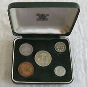 Cyprus 1963 5 Coin Proof Set - Boxed