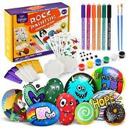 Rock Painting Kit Art And Craft For Kids Rock Painting Easter