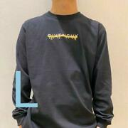 T-shirt Great Deals 33 Logo Drip Embroidery Long Sleeve Cut And Cut And Sew