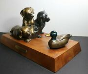 So Thats A Duck Bronze Sculpture By Artist Chris Navarro 1998 29 Of 50 Signed