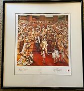 Rolling Stones - It's Only Rock 'n Roll - Signed Printed - Original Lithograph