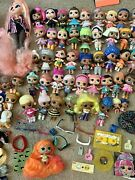 Huge Lot Of Lol Surprise Dolls Dolls Lil Sisters Pets Accessories Clubhouse