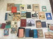Large Lot Of Old Norwegian Books