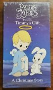 Timmys Gift - A Precious Moments Christmas Story Vhs, 1991