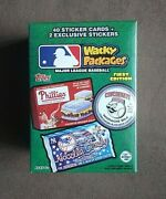 2016 Topps Wacky Packages Mlb Baseball Factory Sealed Blaster Box 1st Edition