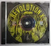 Video Game Pc Revolution X By Aklaim New Sealed Jewel No Front Insert