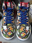 Nike Sb Dunk Ugly Christmas Sweater Deadstock Size 6.5 No Box 100 Authentic