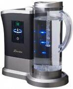 High Concentration Hydrogen Water Generator Lourdes Shine Silver Gray Hs-72