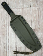 Kydex Sheath With Two C-clips For Cold Steel Recon Scout Handcrafted Csky848