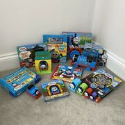 Thomas And Friends Huge Toy Bundle Games Books Dominoes Felt Play Puzzle Magnet
