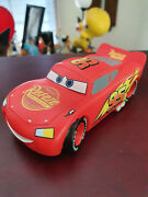 Extremely Rare Walt Disney Cars Lightning Mcqueen Small Figurine Statue