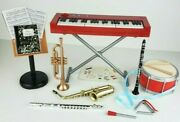 Our Generation 18 Doll School Band Musical Instruments Set - Complete Set