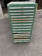 15 Drawer Industrial Cabinet Modular Tooling Storage Tall Machine Shop Tools