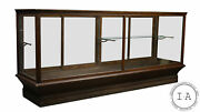 Large Antique Glass Display Case