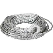 Mile Marker 19-50020c Winch Cable 0.3750 In. X 100 Ft. Includes Hook Each New