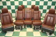 14and039 Expedition King Ranch Brown Dual Power Heat Cool 2nd 3rd Row Seats Screens