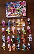 Kamen Rider Ex-aid Gamer Driver With All 24 Candy Toy Gashats.