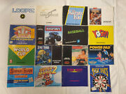 16 Nes Game Manuals In Good To Acceptable Condition.