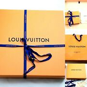 Louis Vuitton 3pc Gift Box Magnetic Large 14x 10x 5 In+small Box+bag Autentic