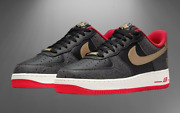 Nike Air Force 1 '07 Lx King And Queen Black White Dj5184-001 Men's Multi Size