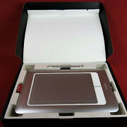 Silver Wacom Bamboo Fun Pen And Touch Cth-661 Usb Drawing Graphics Tablet