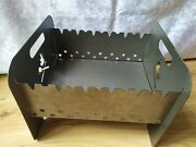 Metal Portable Barbeque Bbq Kabab Shashlyk Grill Mangal Stove Brazier