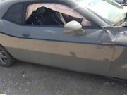 15-18 Dodge Challenger Oem Passenger Right Door Assembly Painted Gray