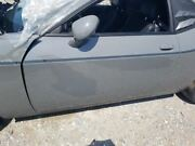 15-18 Dodge Challenger Oem Driver Left Door Assembly Painted Gray