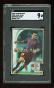 2005 Panini Wccf Lionel Messi First Refractor Sgc 9 Barcelona Pop 1 None Higher
