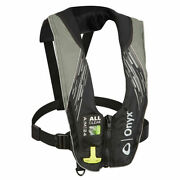 Onyx A/m-24 Series All Clear Automatic/manual Inflatable Life Jacket Grey