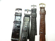 Bulova Accutron Signed Clasp 16-18mm Vintage Bands For Original Bulova Watches