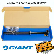 Giant Contact S Switch Dropper Seatpost Mtb 30.9x350/395/440 Travel 100 125 150